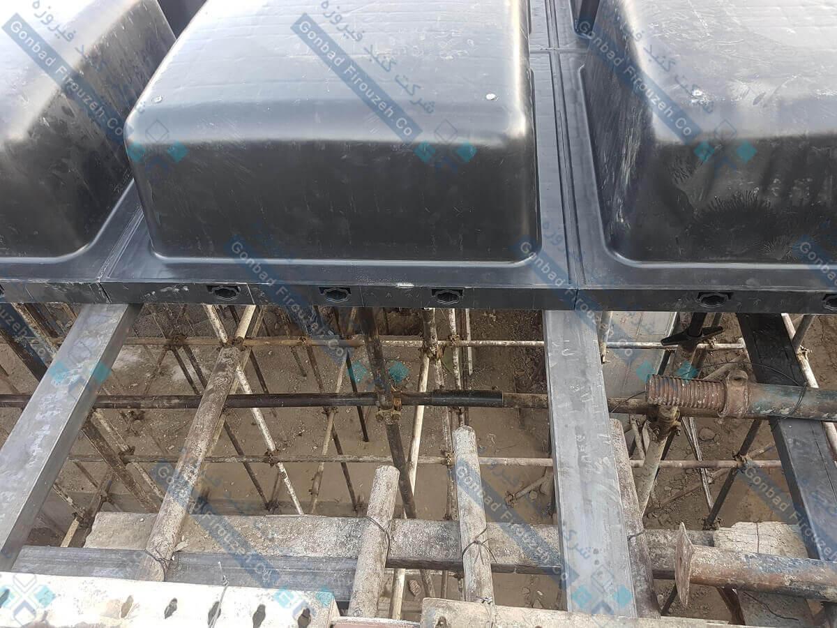 زیرسازی سقف وافل